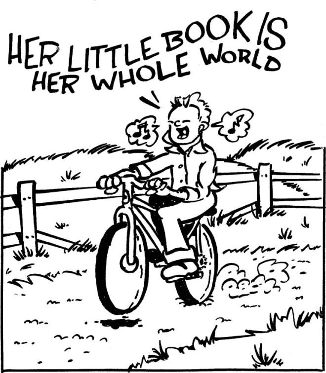 Illustration from Razorcake #41 by Brad Beshaw