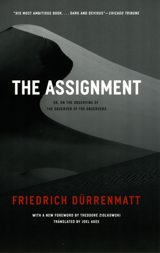 Durrenmatt Assignment